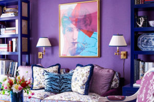 Pintar con el color del 2018 Ultra Violet