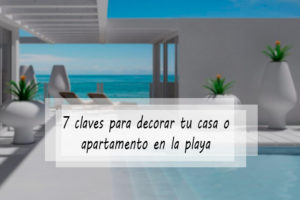 Decorar apartamento playa